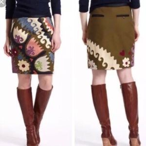 "Anthropologie (Vanessa Virginia) ""Tulipa"" skirt"